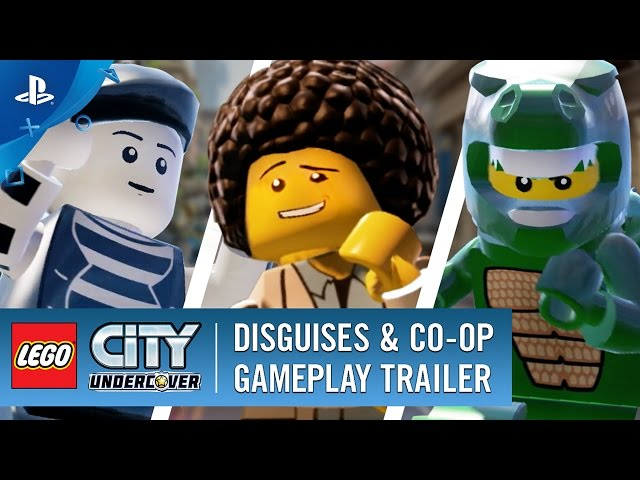 LEGO CITY Undercover (2017): Disguises & Co-Op Trailer | PS4