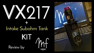 Augvape VX217 Kit Review | Smallest Dual 21700? | Intake Subohm Tank | Great Combo