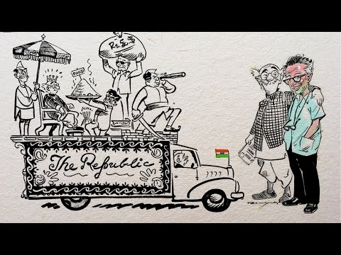 An Animated History of India Through RK Laxman's Common Man