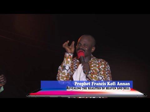 KONONGO FOR CHRIST CRUSADE ( DAY 1 ) WITH PROPHET FRANCES KOFI ANNAN