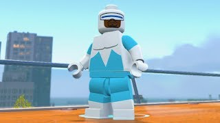LEGO The Incredibles - Frozone - Open World Free Roam Gameplay (PC HD) [1080p60FPS]