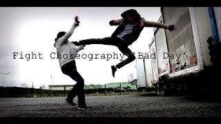 """""""BAD DAY"""" Fight Choreography Martial Arts - HD - Action Live Short Film"""