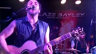 Blaze Bayley - Watching the Night Sky (acoustic) - live @ Krouvi, Mäntyharju, Finland 2017-05-21