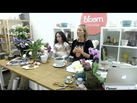 Tea Cup Flower Arrangements | Bloom TV LIVE 1/5/16
