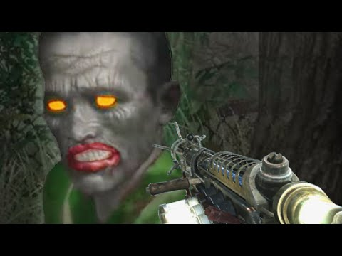 "BURMA HELL ZOMBIES ""Call of Duty Zombies"" Custom Map Gameplay"