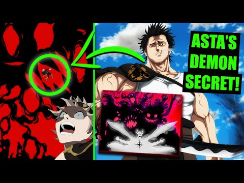 Black Clover Asta's Demon REVEALS HIS SECRET! Yami vs Dante & Lucifer's ...
