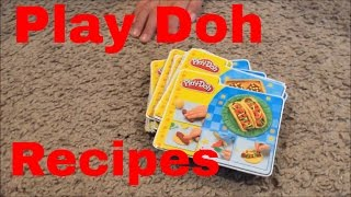 Play Doh - Can you name the recipes?