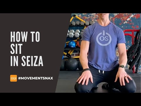 How to Sit in Seiza