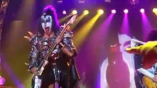 KISS - Stockholm, Sweden  2013 concert Clips