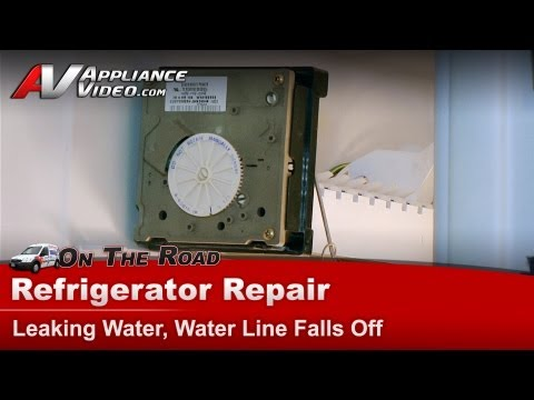Refrigerator Diagnostic Amp Repair Water Leaking Kenmore
