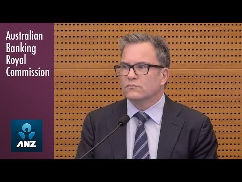 ANZ's general manager of small business banking testifies at the Banking Royal Commission
