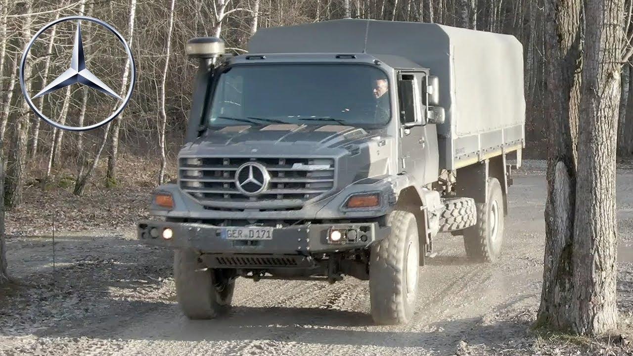 Mercedes Benz Zetros Off Road Driving Course