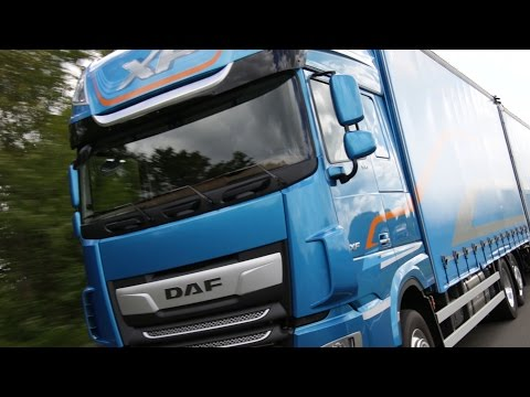 On the road in the New Daf CF and XF - full review