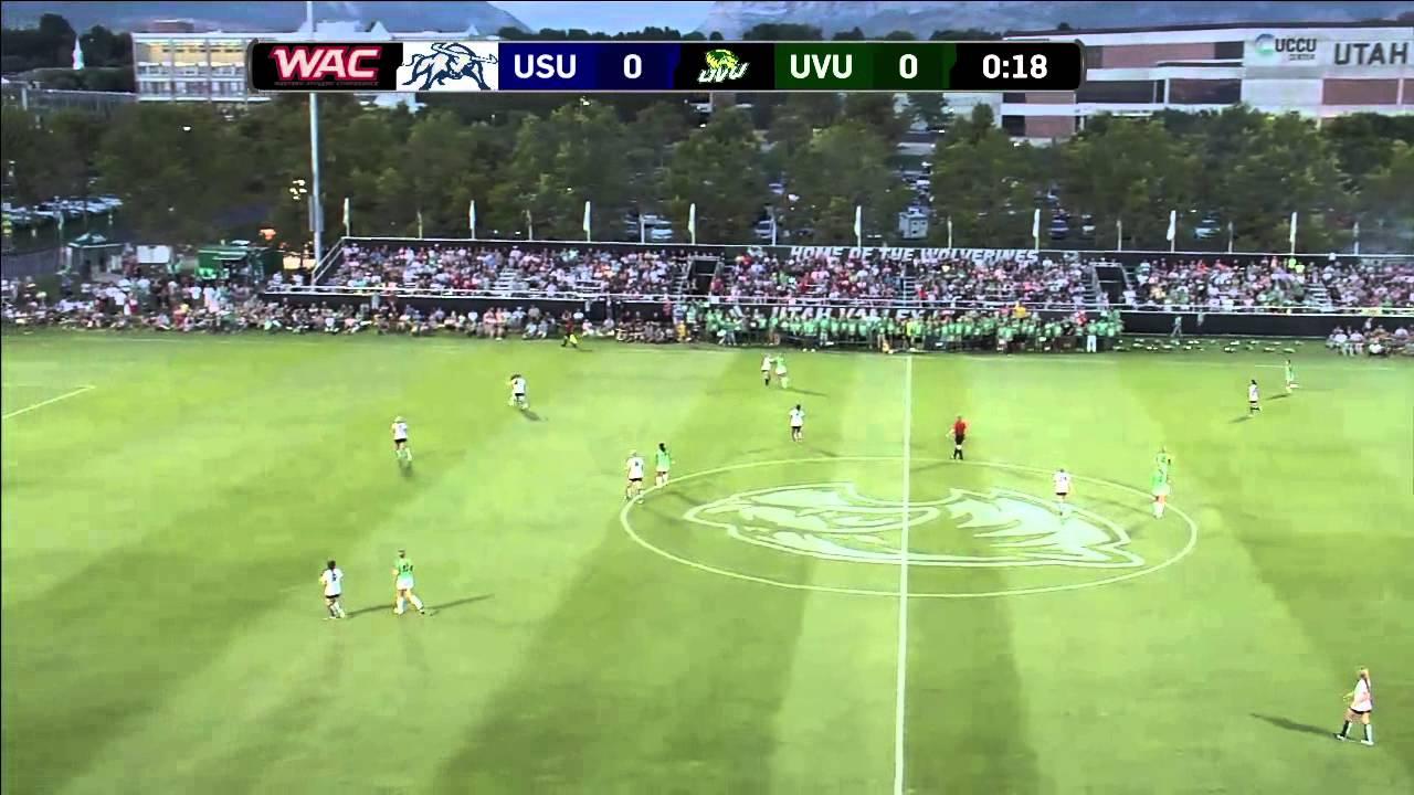 ncaa soccer utah state university at utah valley university