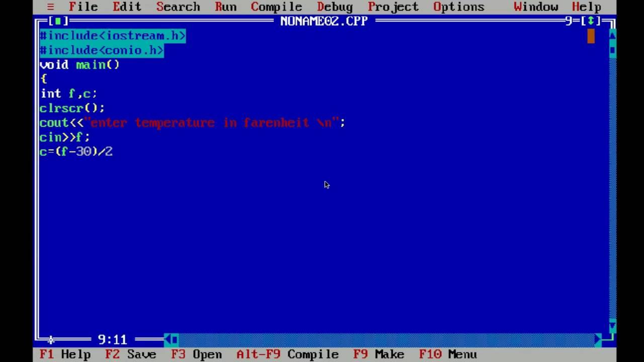 C program to convert temperature from Fahrenheit to Celsius and Celsius to Fahrenheit.