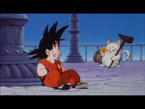 Korin Makes Goku Cry Dragonflick Z Youtube