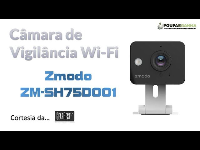 Zmodo ZM - SH75D001 Mini WiFi Camera