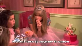 Taylor Swift no The Ellen Show - Hora do Chá com Sophia Grace e Rosie (LEGENDADO)