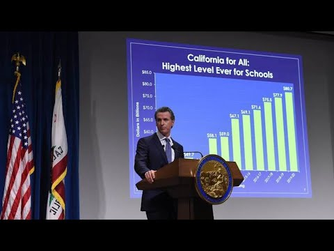 Hear governor Gavin Newsom's 2019 state budget proposal