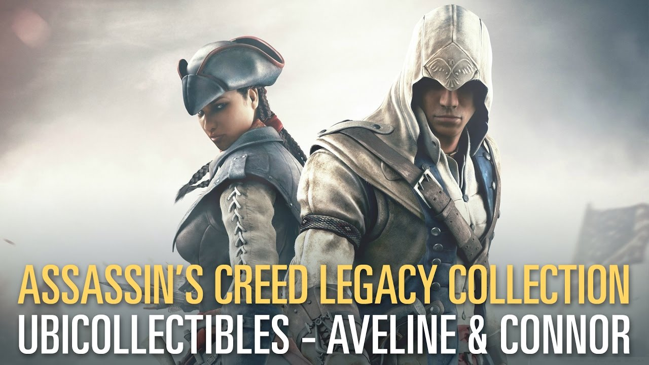 Assassin S Creed Busts Aveline Connor Reveal Trailer Youtube