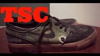 The Sneaker Chop Nike SB Stefan Janoski Skateboarding Shoes