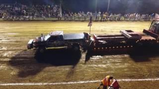 Dekalb County Fair Truck & Tractor Pull July 23, 2016