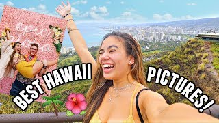 BEST PHOTO SPOTS IN HONOLULU, HAWAII!🌺 Diamond head crater hike and Epic aloha museum!