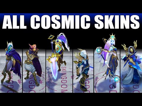All Cosmic Skins Spotlight 2020 (League of Legends)
