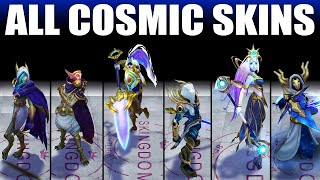 All Cosmic Skins Spotlight 2020 (League of Legends)
