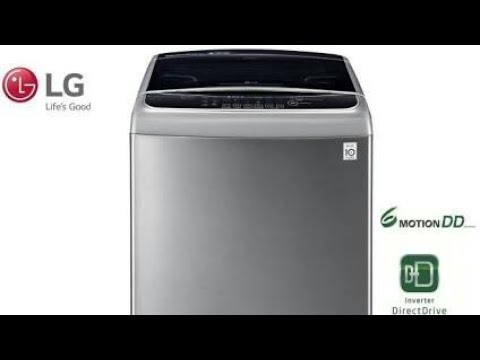 lg top load washing machine tub clean demo