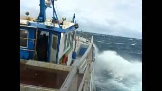 Tempète en haute mer