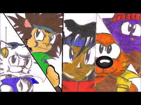 Kid Soldier & the Military troop cats Manga The Official Promo Trailer
