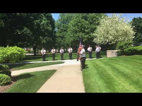 Tom Metcalf 21 gun salute June 11, 2019