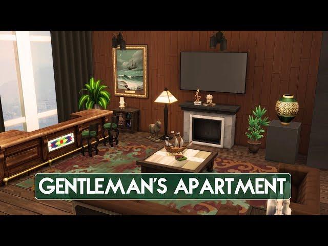 Sims 4 | House Building | Gentleman's Apartment