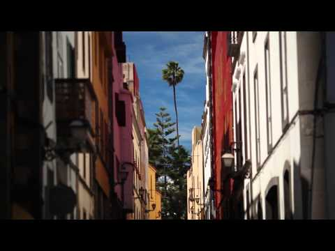 Walking tour Old town Las Palmas - Video