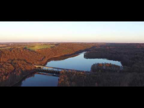 Lacs de l'Eau d'Heure Belgium - Drone View - Autumn 2K16