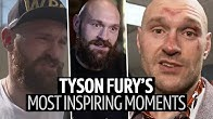 """""""I fight to give them hope!"""" Tyson Fury's most inspirational moments ever 