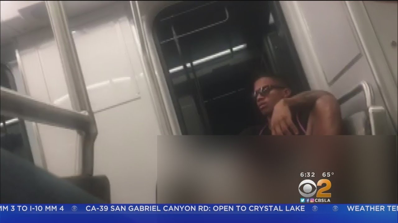 Only On 2: Man Touching, Exposing Himself On Expo Line Recorded On Cell  Phone Video