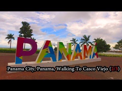 Panama City, Panama - Walking to Casco Viejo (2/3) November 2016