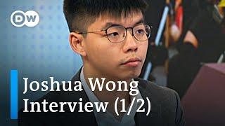 'Hong Kong is part of China' Joshua Wong Interview (1/2)