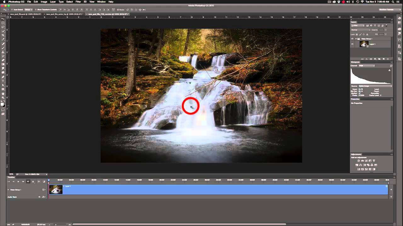 Photoshop 6 How To Create An Hd Cinemagraph In Photoshop 6 6 Key Framing Final Render