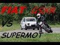 The best of... fiat 126 moteur 1100 GSXR!!!! VS supermotard