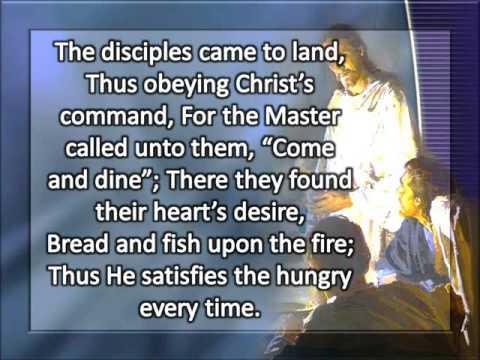 Jesus has a table spread