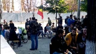 Protestatarii de stânga au deblocat strada