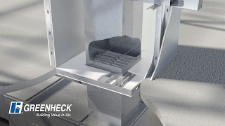 greenheck horizontal fire smoke damper in a non concrete barrier