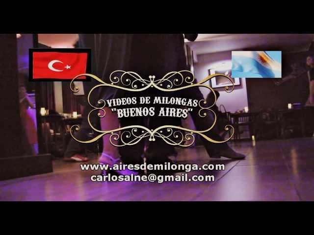 Istambul, Milonga La Cumparsita, tango en Turquia