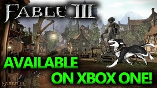 Fable 3 On Xbox One!