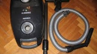 HOW TO REPAIR SAMSUNG SC5670 VACCUM CLEANER - TURNING OFF