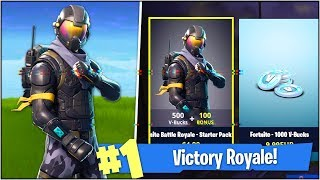 "'NEW' SECRET ""ROGUE AGENT"" SKIN in Fortnite Battle Royale! (Fortnite Battle Royale Starter Pack)"