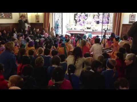 Kirtan Hare Krsna - Children Of Bhaktivedanta Manor